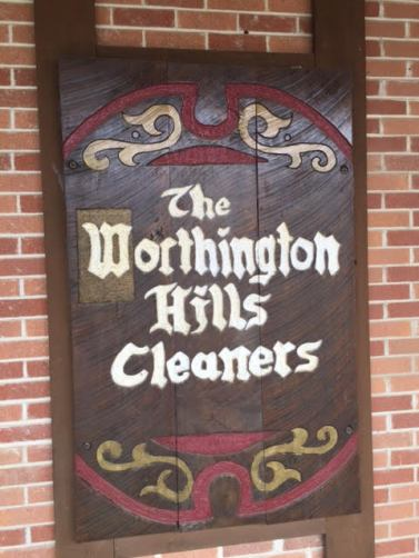 Worthington Hills Cleaners logo